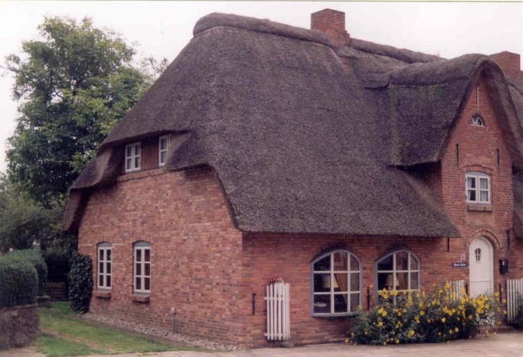 ferienhaus niebüll, nordfriesland 3 sterne: friesenhaus antje