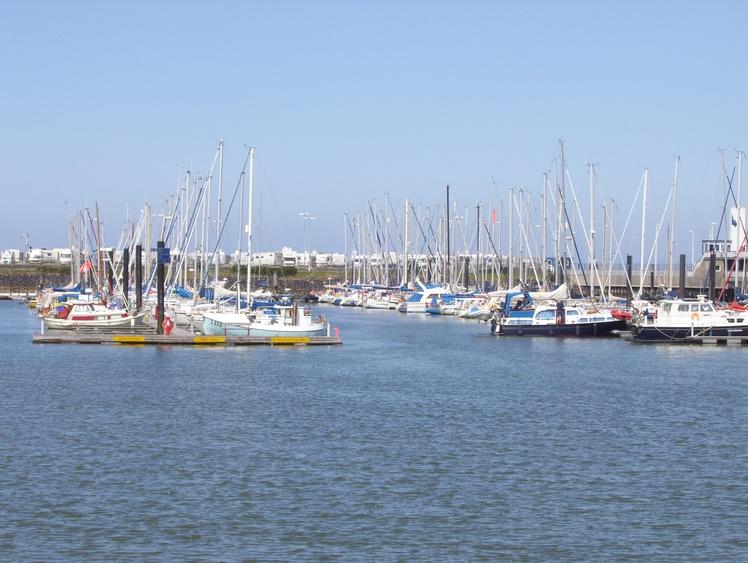 Der Jachthafen von Cuxhafen
