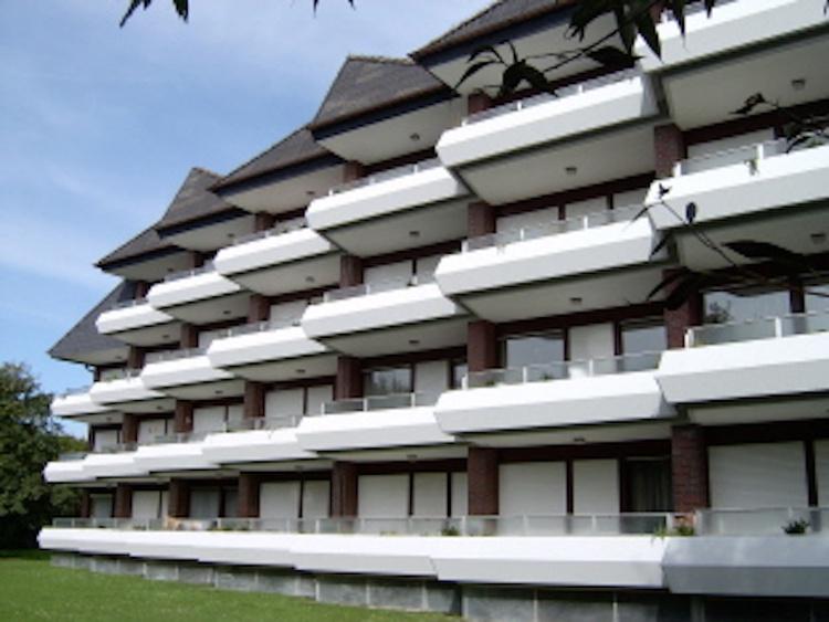 Haus Balkonseite