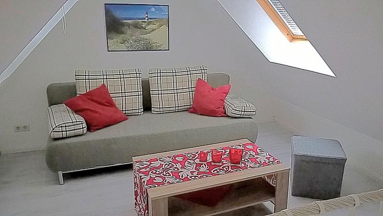 2. Schlafzimmer mit Ausziehcouch