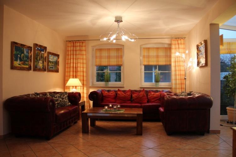 Bequeme Chesterfield-Couch-Garnitur