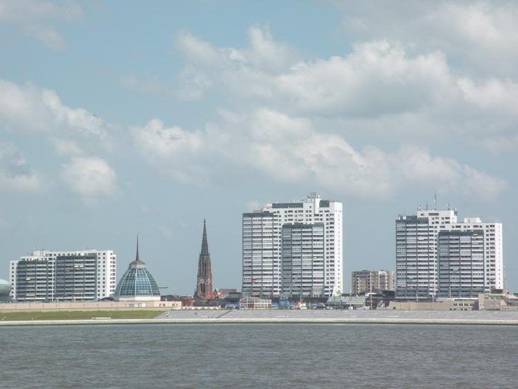 CC von der Weser aus