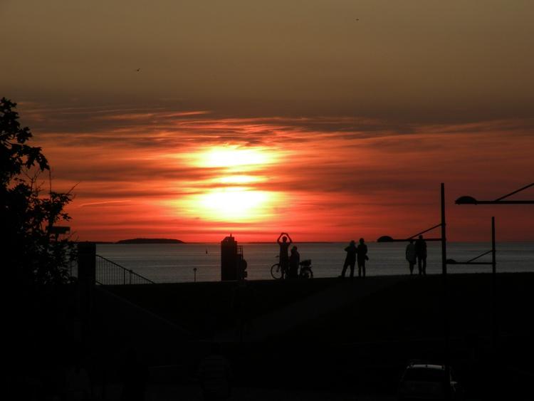 Sonnenuntergang in BHV