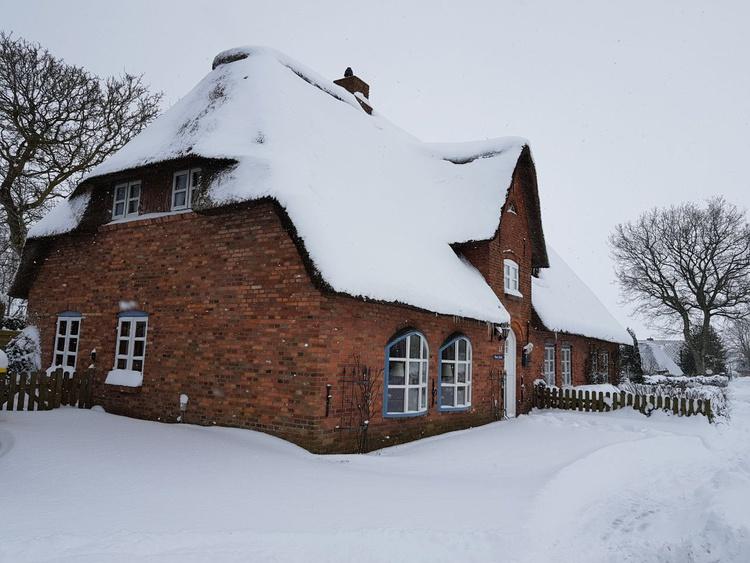 Unser Friesenhaus hat auch im Winter Saison