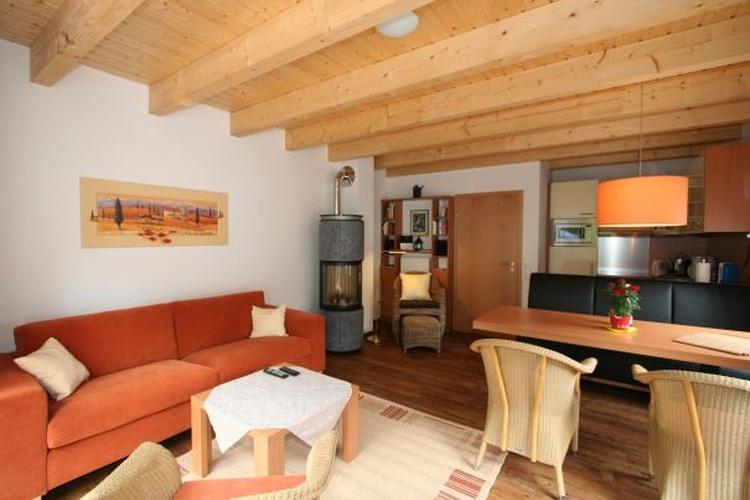Wohnzimmer mit Gaskamin Haus 8