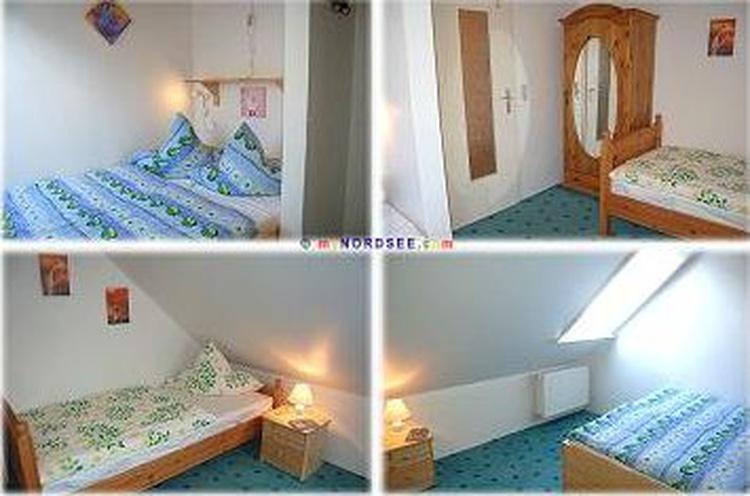 Kinderzimmer mit Doppelbett und Einzelbett