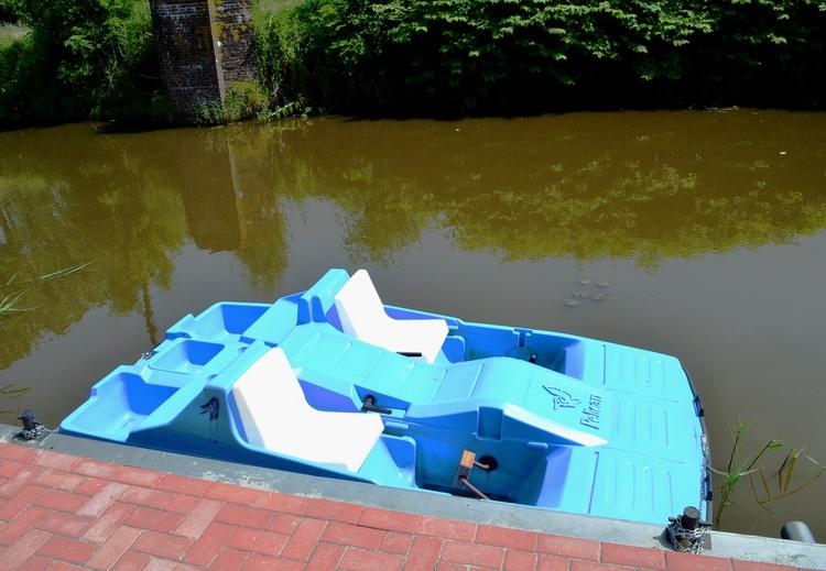 Tretboot steht kostenfrei zur Verfügung