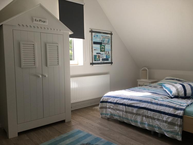Beachhouse Nordseejuwel Sleeping Room Upper Floor