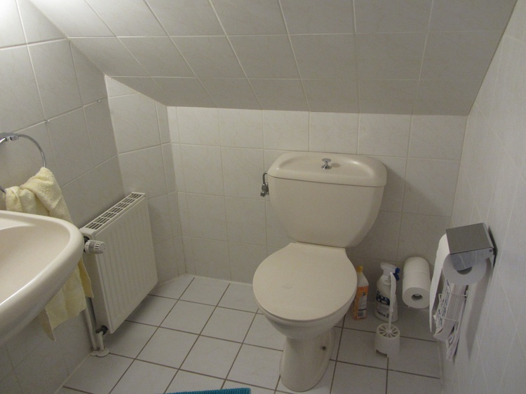 WC am 2. Schlafzimmer
