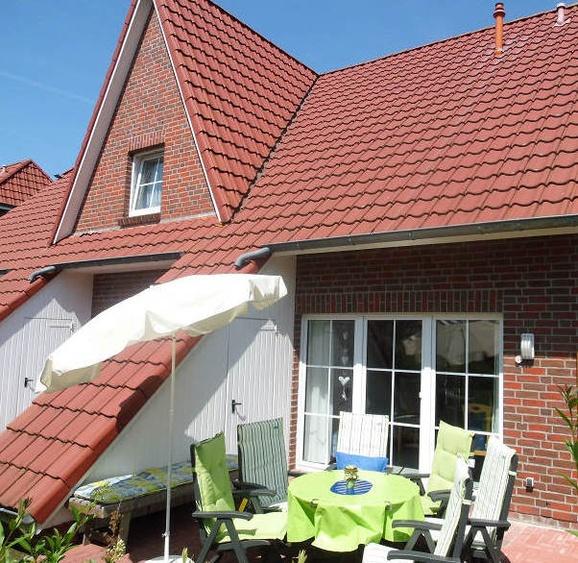 Terrassenansicht Häuser 1 bis 5