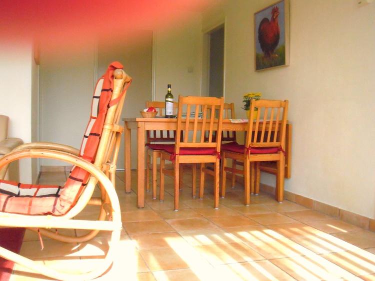 Ess-Ecke im Wohnzimmer