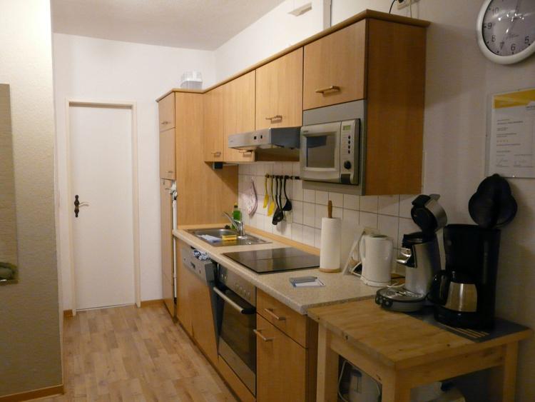 Küchenzeile in der Diele