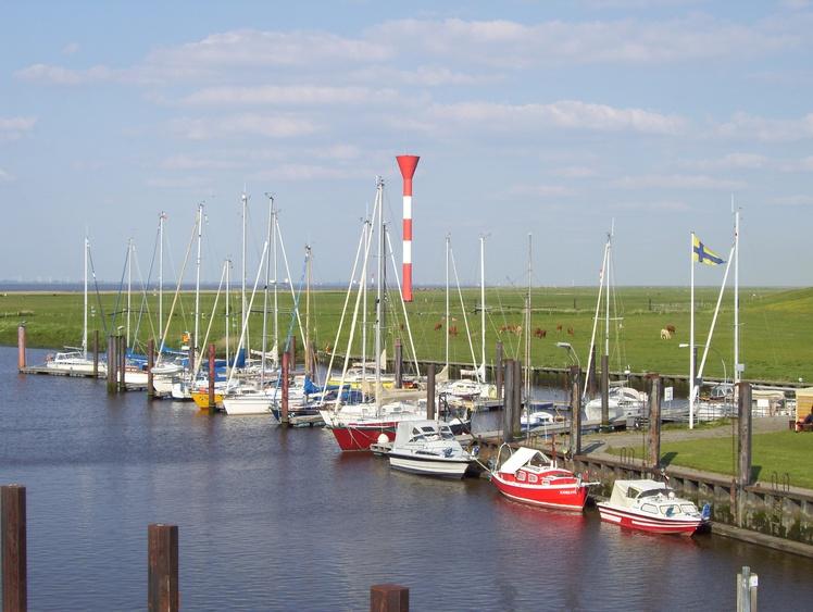 Der Jachthafen von Otterndorf