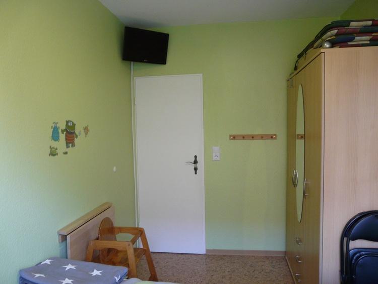 Kinderzimmer mit TV