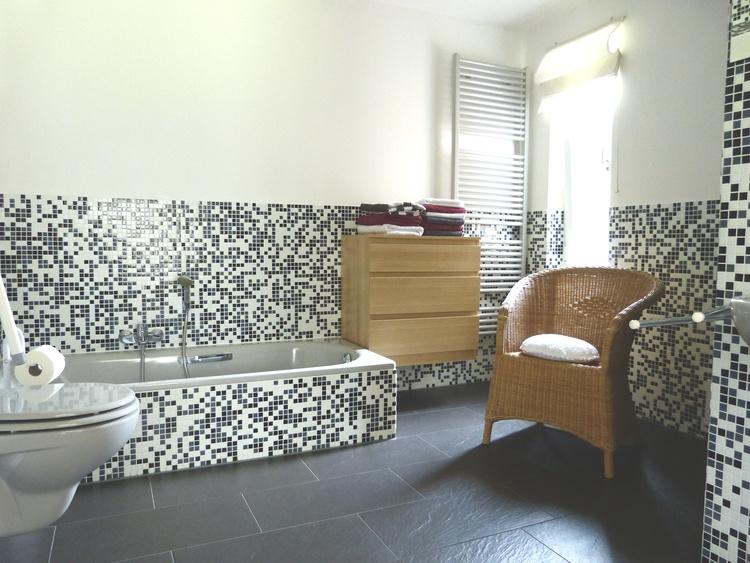 10m² Bad mit Fußbodenheizung