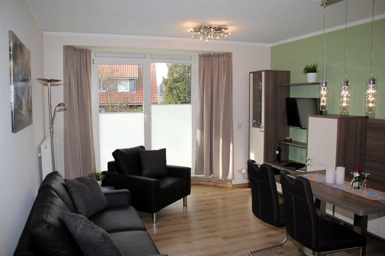 Wohnbereich mit Flatscreen, HiFi