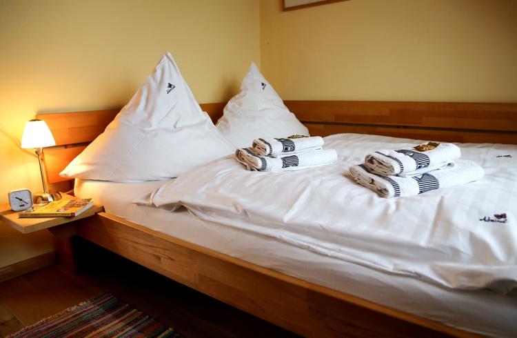 kleines Doppelschlafzimmer