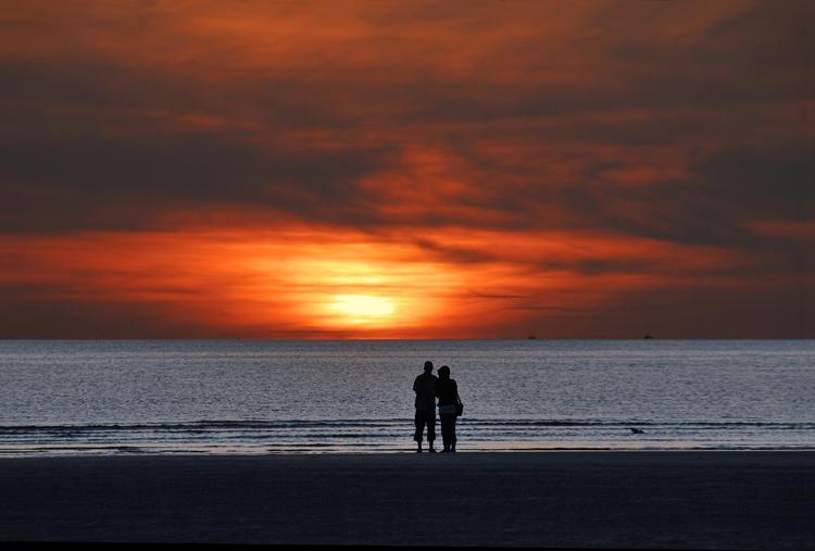 Ferienhaus Seemuschel mit Flair, beste Strandlage, Abendstimmung und Nordsee-Feeling pur genießen