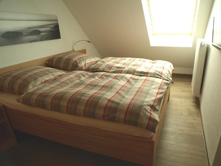 Schlafzimmer in 4. Etage