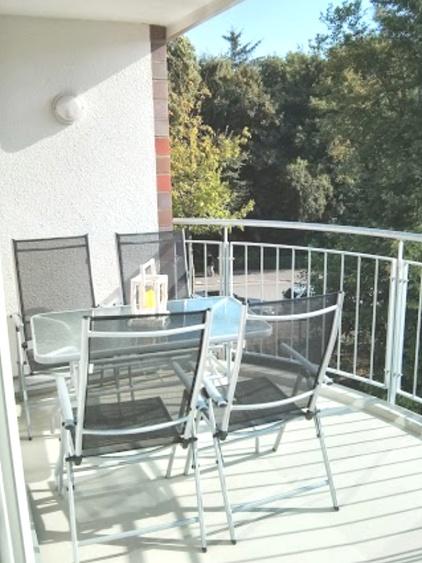 Ferienwohnung Cuxhaven Hohe Lith 3.23 Balkon
