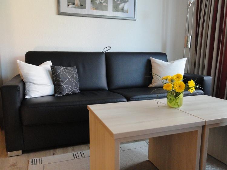 Wohnzimmer, Sofa bzw. Schlafsofa