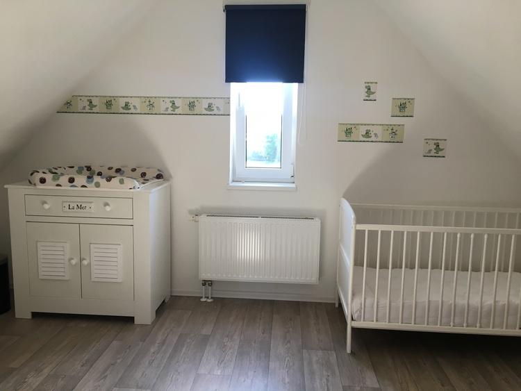 Beachhouse Nordseejuwel Sleeping Room Baby