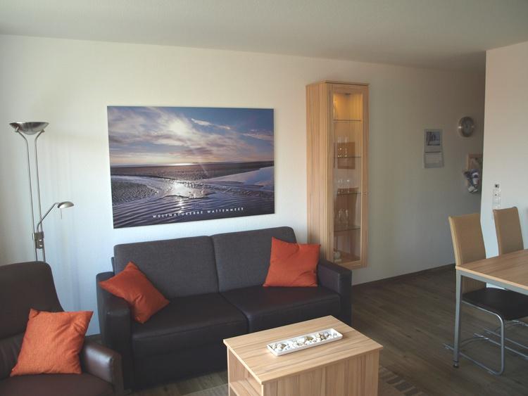 Ferienwohnung Cuxhaven Hohe Lith 3.23 Wohnzimmer