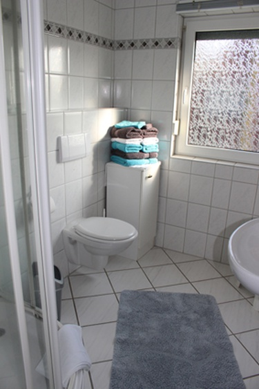 Badezimmer Dusche/ WC