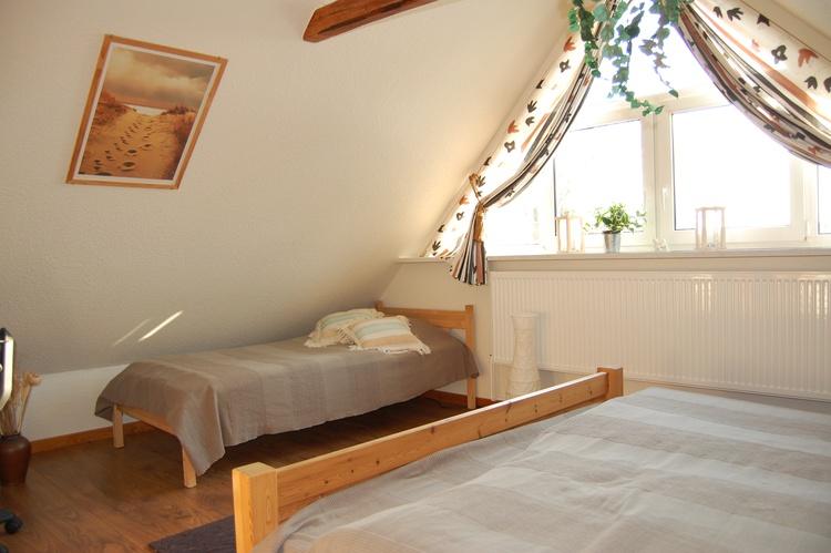 Schlafzimmer oben die 3. Schlafmöglichkeit