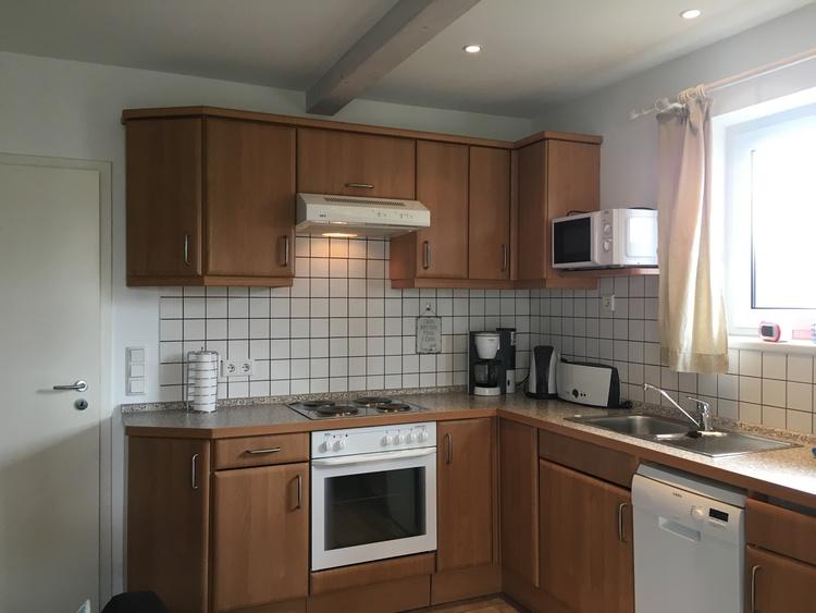 Beachhouse Nordseejuwel Kitchen