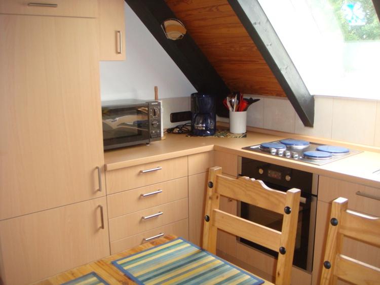 open kitchenette