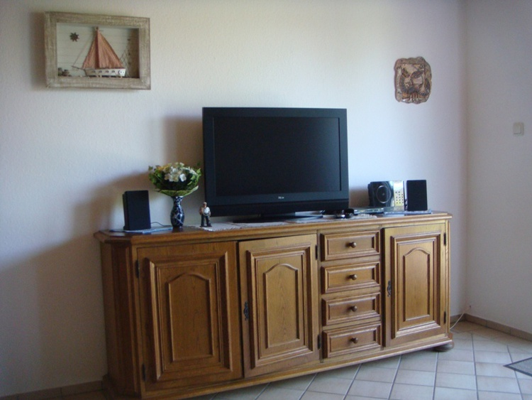 sideboard with tv