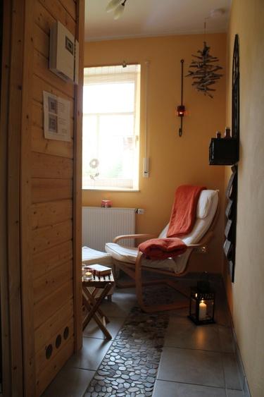 Entspannung im Wellness/Saunaraum
