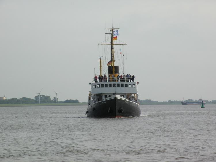 Auf der Weser, liegt in BHV!