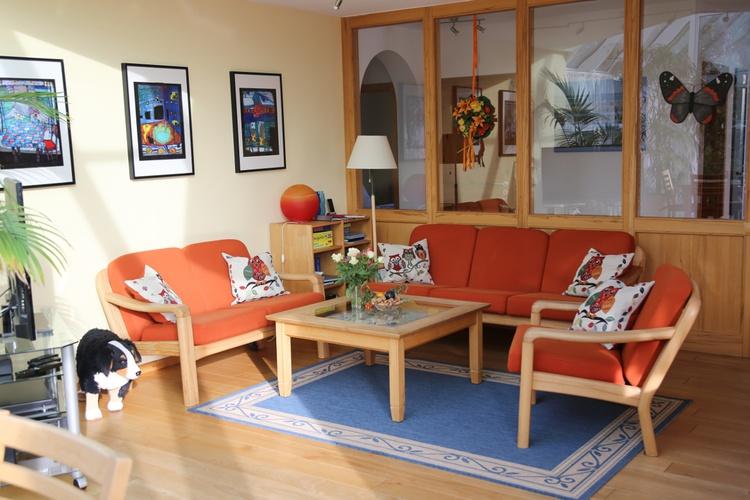 Sitzecke im großen Wohnzimmer