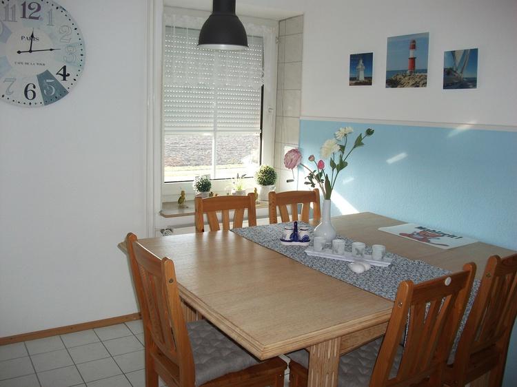 Esszimmer FeWo Seebär