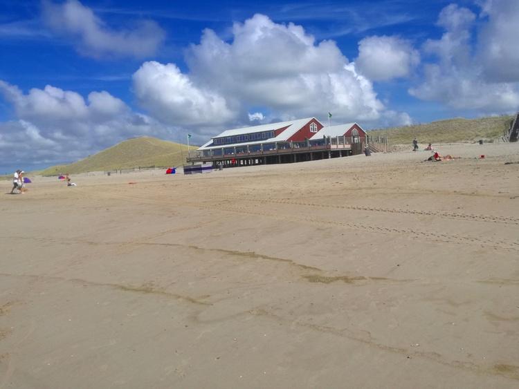 Das neue Strandcafe in Petten