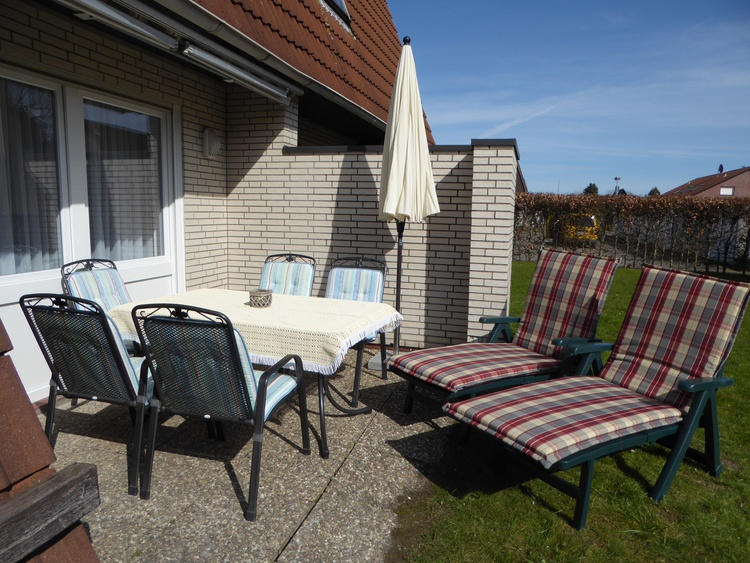 Terrasse in Südlage