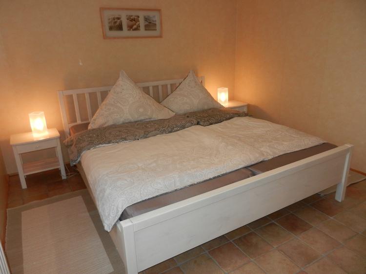 Schlafzimmer 1 Ferienhaus Nordseejuwel